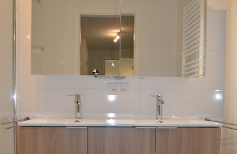 SALLE DE DOUCHE (meuble avec deux vasques)